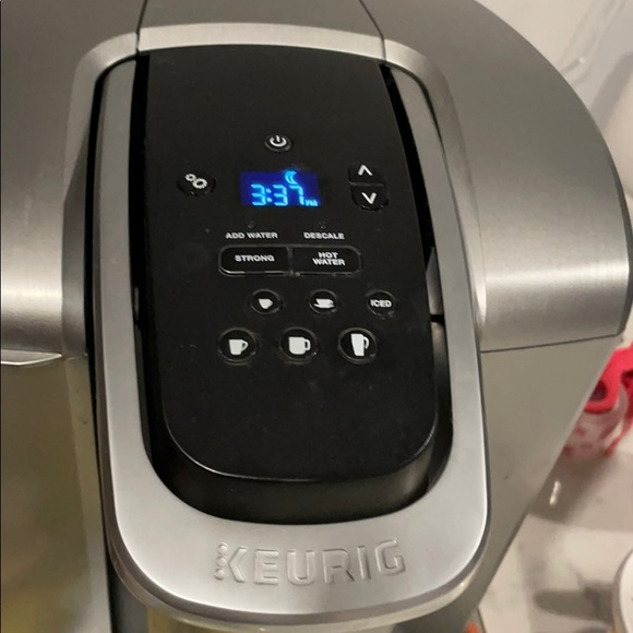 K-Elite keurig coffee maker